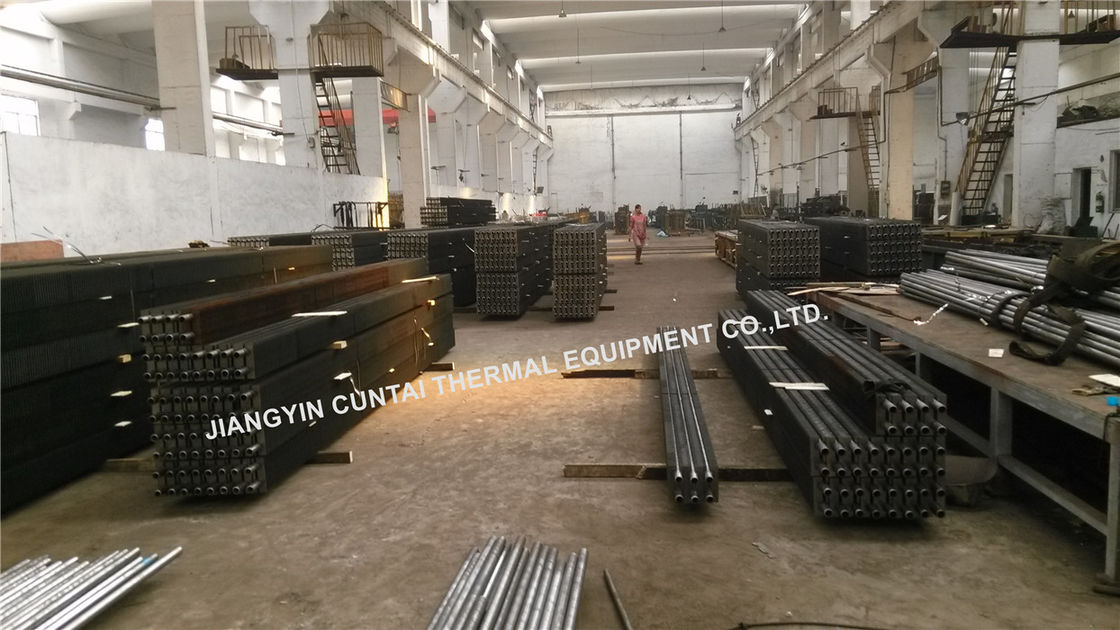 Welded HH Type Square Rectangular Fin Tube For Waste Heat Recover Unit