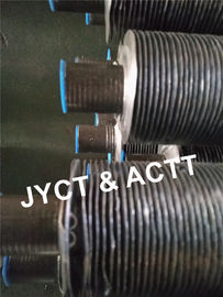 Cina Carbon Steel G Type Tabung Fineded Embeded for Heater Parts / Air Cooled Condenser Distributor